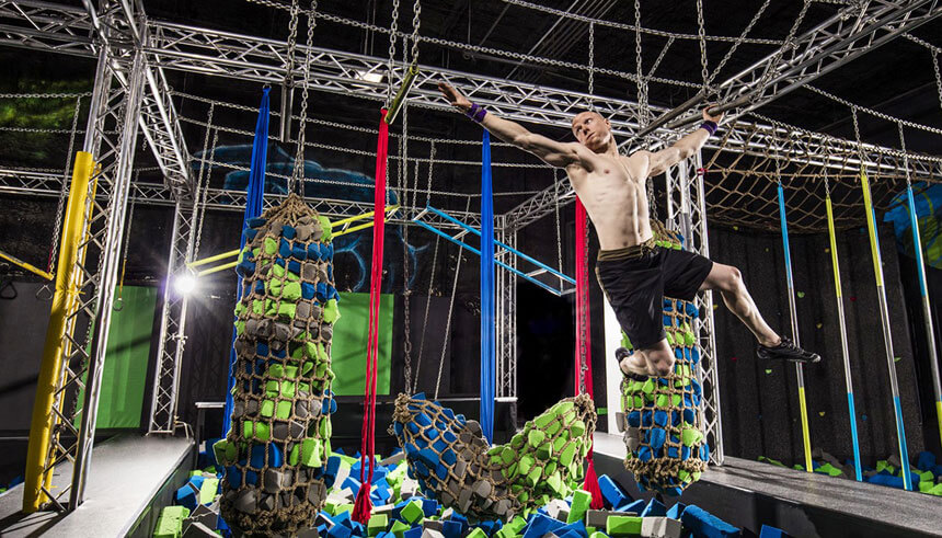 Kevin Bull, an American Ninja Warrior and a general manager of Dojoboom