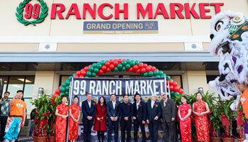 Grand opening of one of 99 Ranch Market's new locations