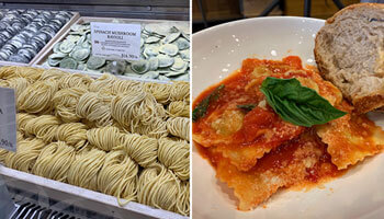Authentic Italian food from Eataly