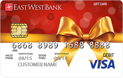 East West Bank Gift Card