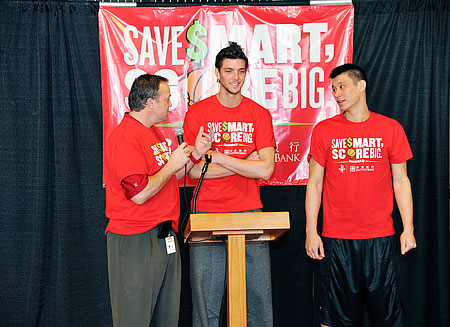 "East West Bank Partners with Houston Rockets on ""Save Smart, Score Big"" Financial Literacy Program"
