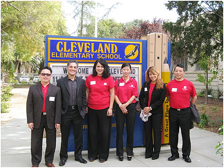 Banking on Our Future Day at Cleveland Elementary School