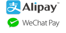 Alipay and WeChat Pay logo